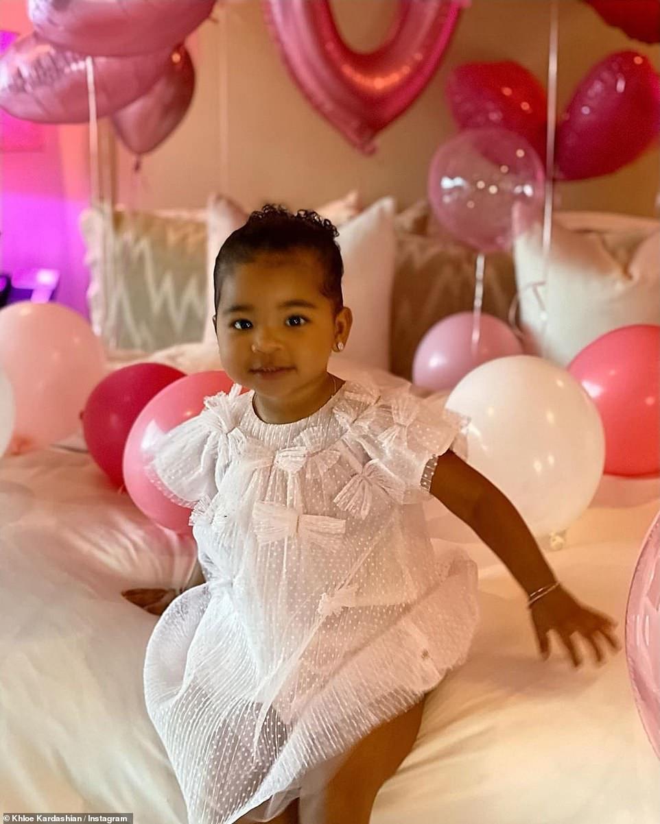 Khloe Kardashian and Tristan Thompson throw Trolls-themed birthday party to celebrate their daughter True at 2 (photos)