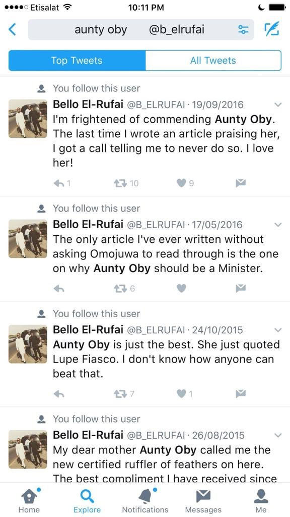 Oby Ezekwesili's twins tackle Governor El-Rufai's son, Bello after he disrespected their mother lindaikejisblog 12