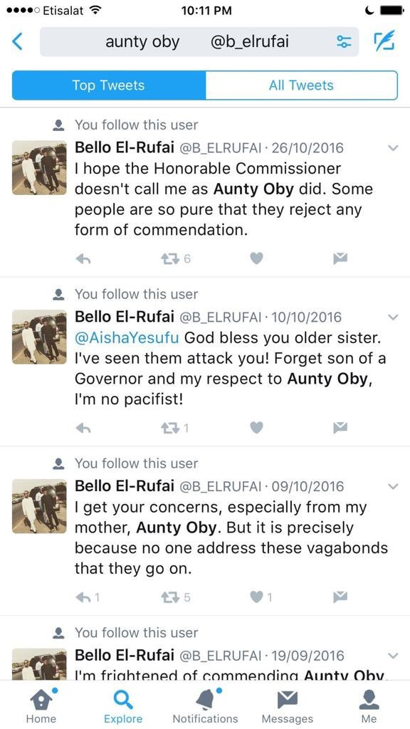 Oby Ezekwesili's twins tackle Governor El-Rufai's son, Bello after he disrespected their mother lindaikejisblog 13