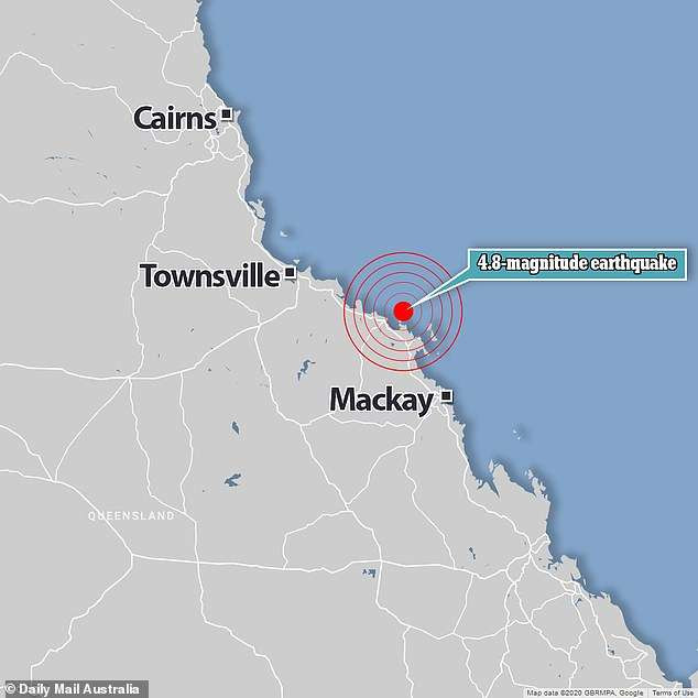 Australia's east coast is rattled by a 4.8-magnitude earthquake