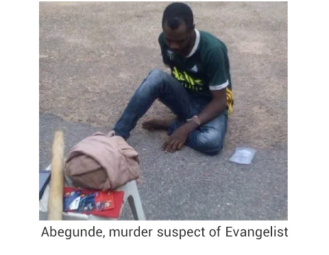 Police parades man who strangled Evangelist to death in Oyo after he discovered N2 million in her bank account