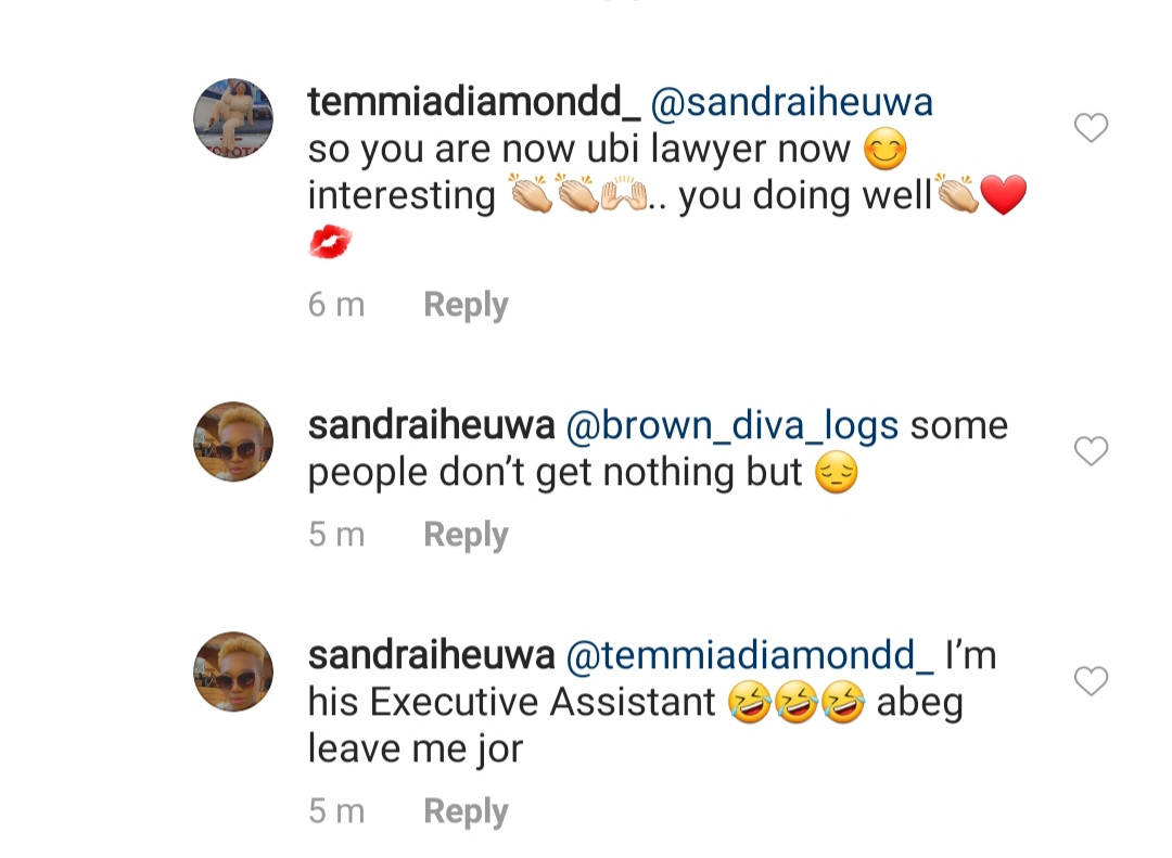 Ubi Franklin reacts to claims he is a