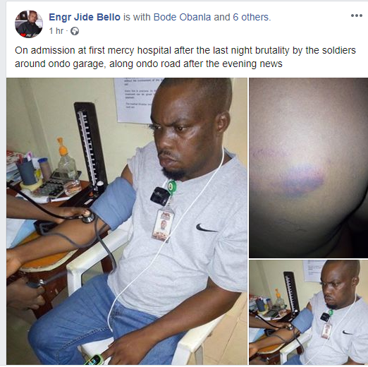 Coronavirus lockdown: NTA staff allegedly brutalized by soldiers in Ondo