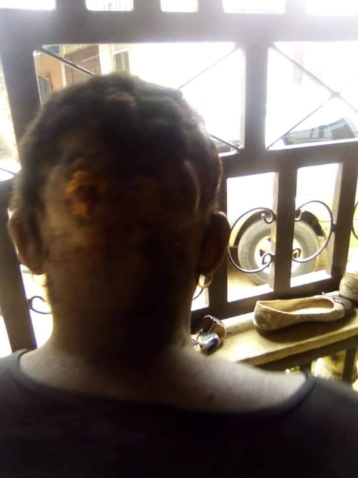 Nigerian man flees after breaking his wife