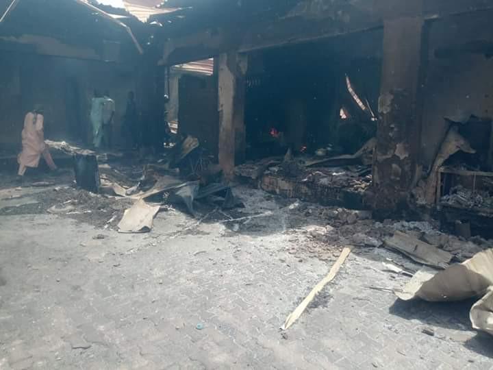14 killed, many injured as fire razes IDPs camp in Borno