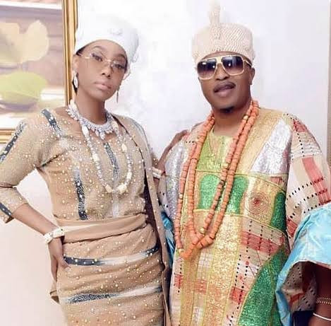 """Tell the people that you raped me the first night we met"" Ex-wife of Oluwo of Iwo accuses him of luring her into marriage by claiming no one refuses a king (video)"