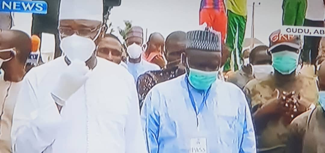Formr Chief of Staff to President Buhari, Abba Kyari, laid to rest (photos/Videos)