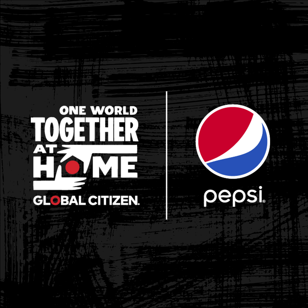 Pepsi Partners with Global Citizen to Support Front line Healthcare Workers and the WHO