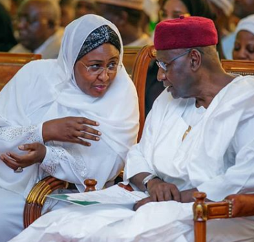 Aisha Buhari mourns late Abba Kyari, former chief of staff to President Buhari