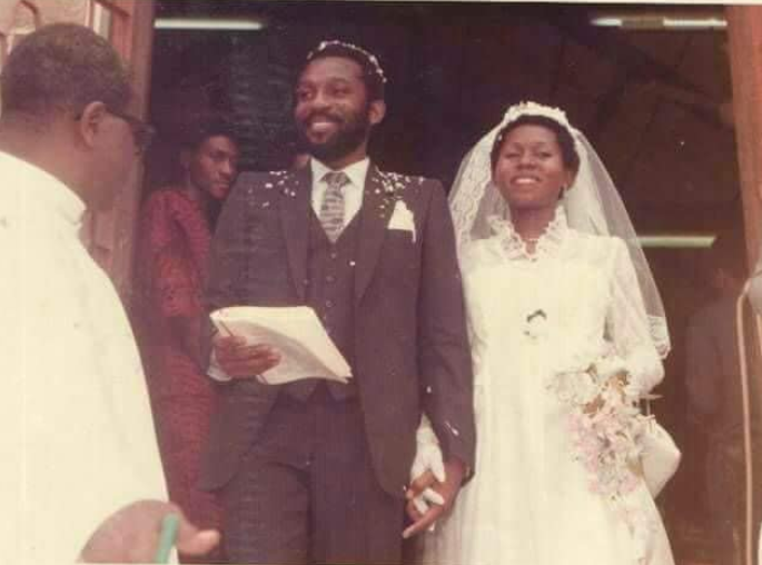 Ondo state governor, Rotimi Akeredolu and wife, Betty, celebrate 39th wedding anniversary
