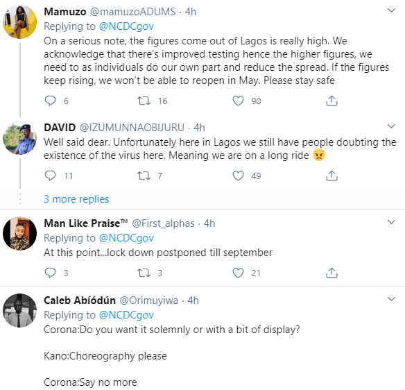Lagosians react in shock as state records 70 new cases of Coronavirus