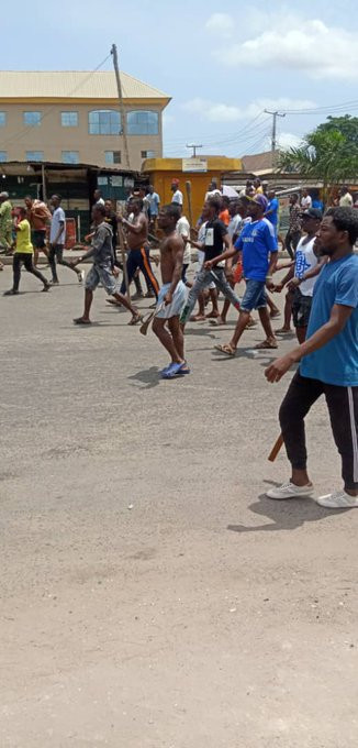 One million boys chased out of Oworonshoki by youths, police restore normalcy in the area lindaikejisblog