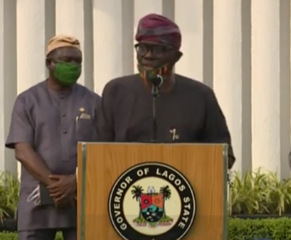 COVID-19: Lagos state government to enforce wearing of face mask from next week (videos)