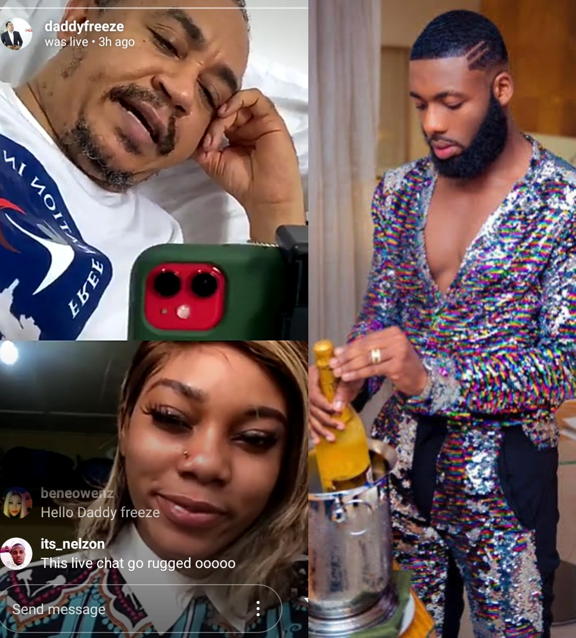 Ex-porn star, Savage Trap Queen makes allegations about Swanky Jerry's sexuality as she calls him out for his statement on women going nude on IG Live (video)