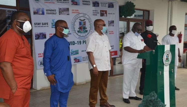 Abia state government shuts down two hospitals; says two index cases of Coronavirus in the state had no history of travelling abroad or outside their vicinity