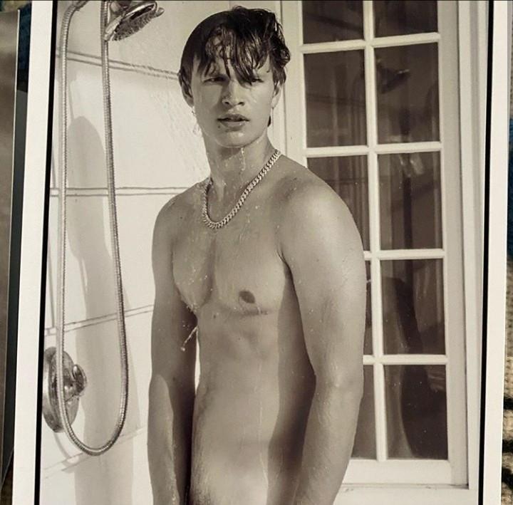 Actor Ansel Elgort goes nude on Instagram
