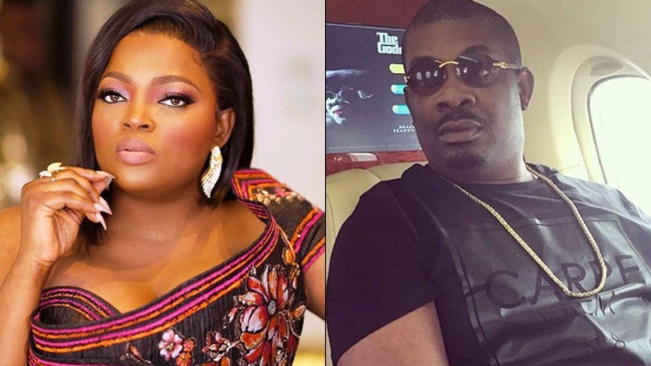 I have more respect for you after making a mistake and owning up to it - Don Jazzy tells Funke Akindele