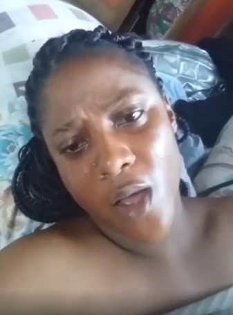 Sex-starved Nigerian lady cries out for