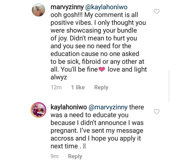 OAP Kaylah Oniwo reveals she