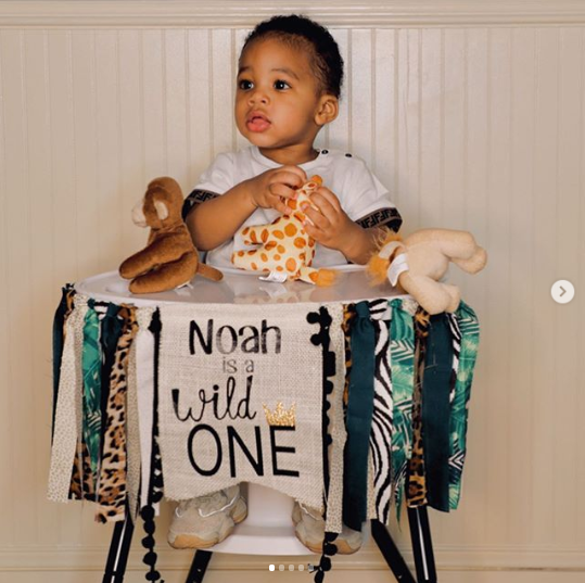 Trey Songz finally reveals the beautiful mother of his son, Noah  (Photos)