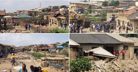 Lagos state government suspends demolition of illegal structures