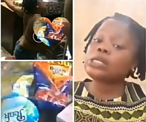 Woman stripped naked for allegedly stealing milk from a store speaks up to clear the air (video )