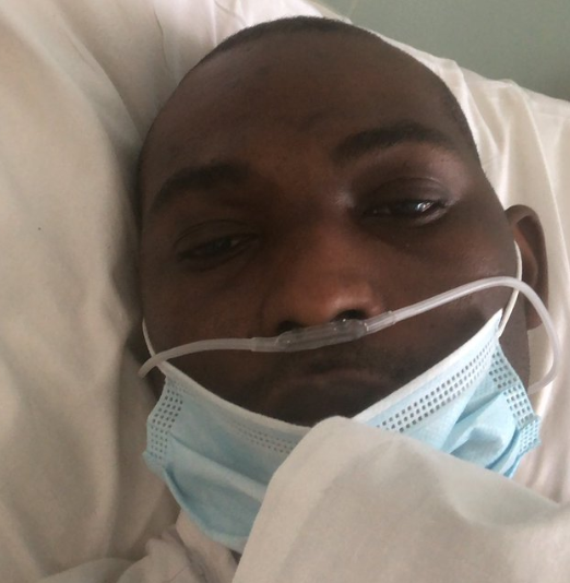 "Nigerian man battling to survive COVID-19 in the UK begs Nigerians to take it seriously and stop ""bashing"" the president for ordering a lockdown"