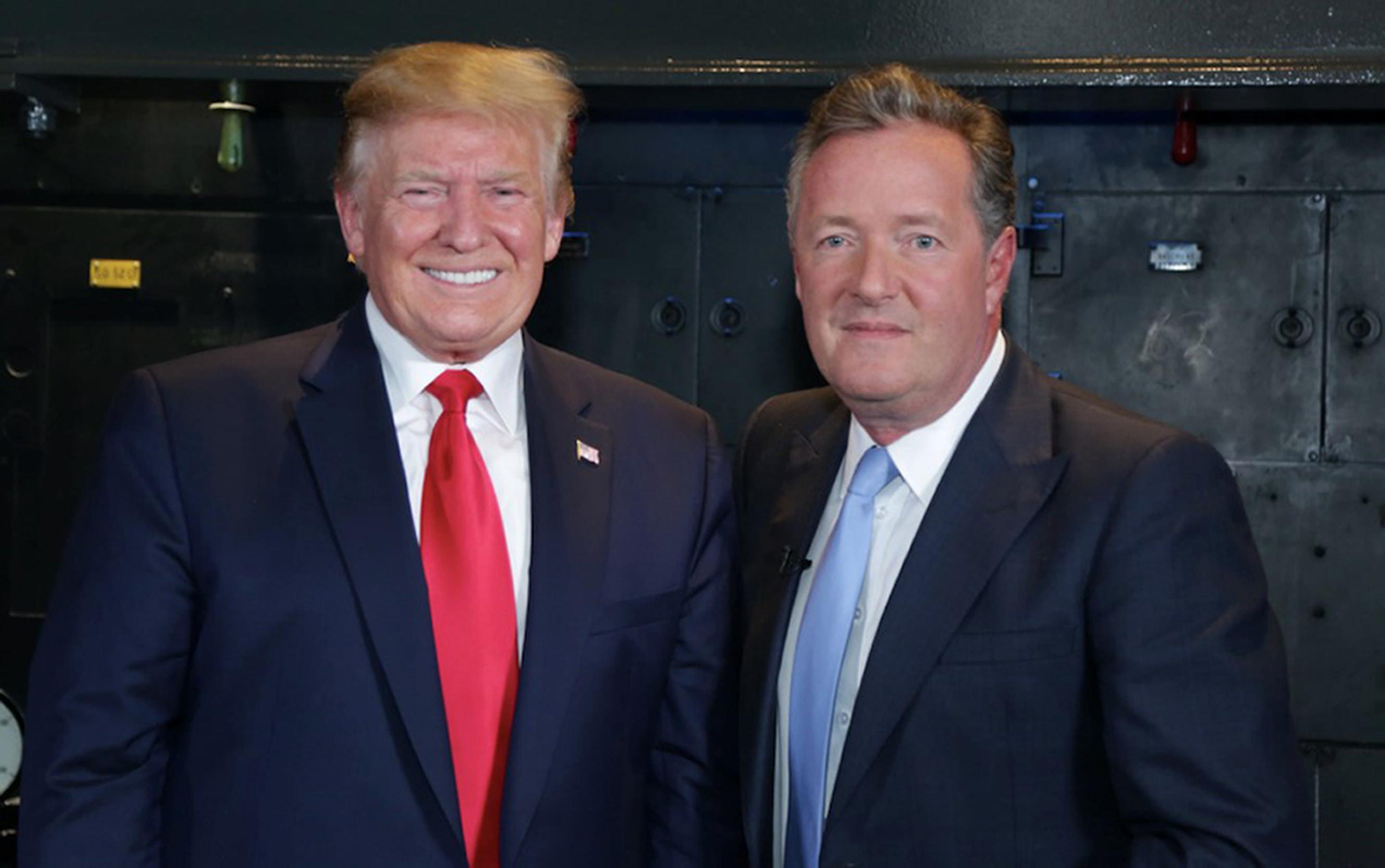 Donald Trump Unfollows Long Time Friend Piers Morgan On Twitter (See Reason)
