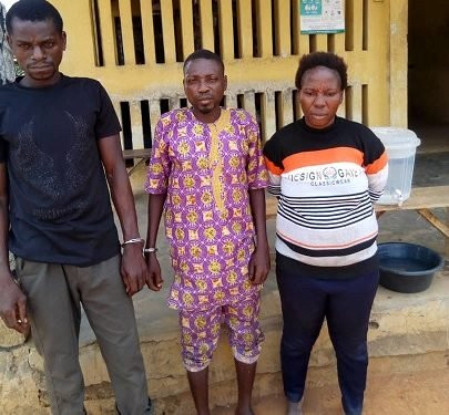 Couple who allegedly killed their 7-year-old-son for ritual purpose, arrested in Ogun State