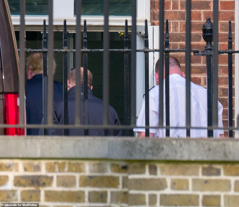 UK prime minister, Boris Johnson arrives at Downing Street ahead of his return to work (photos)
