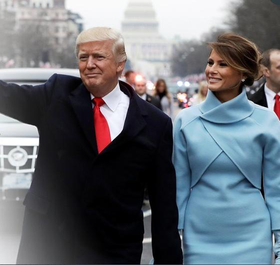 Donald Trump celebrates wife Melania as she turns 50