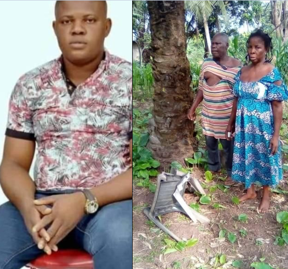 Son allegedly brutalizes his father and mother over land in Delta
