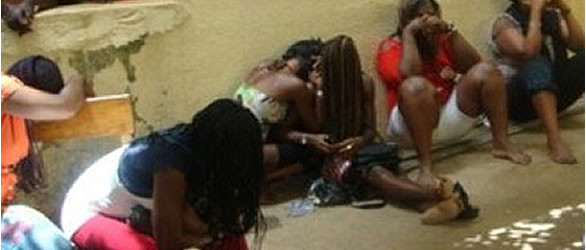 COVID19: Sex workers and their clients arrested in Ondo for flouting state government