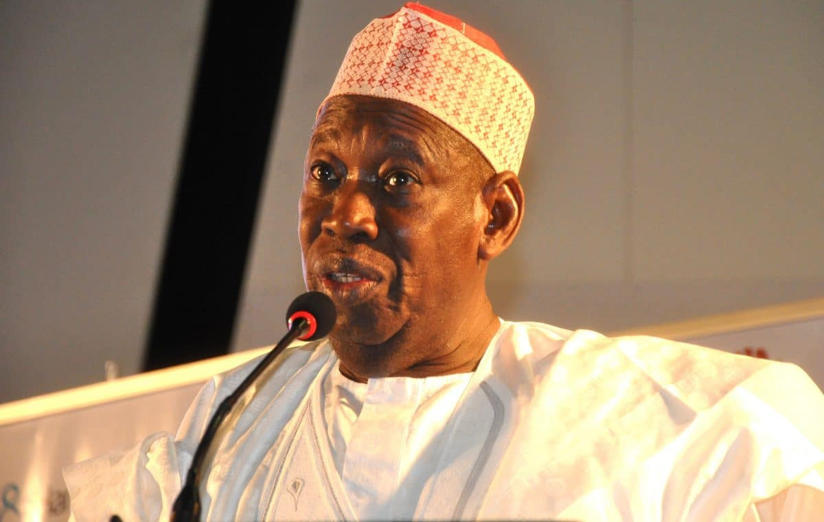 We are not getting the needed support and cooperation from the Presidential Task Force in the fight against Coronavirus ? Governor Ganduje laments