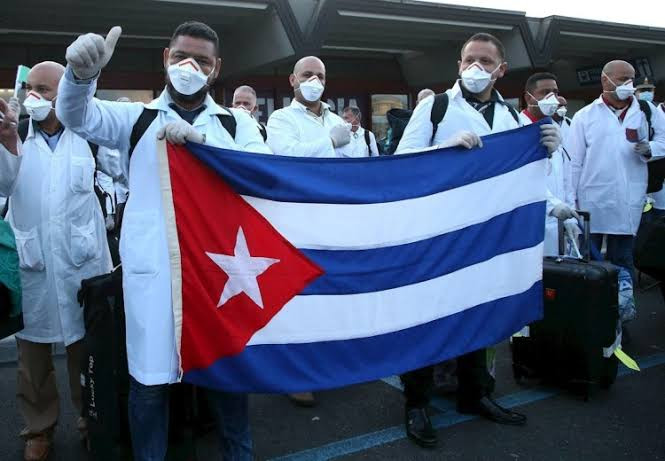 Cuban doctors arrive South Africa to help the country fight Coronavirus