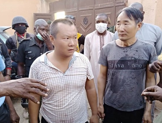 Two Chinese nationals arrested for illegal mining in Zamfara