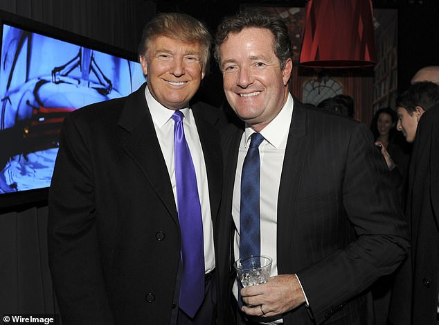 Piers Morgan ends his 15-year friendship with Donald Trump with a brutal open letter to the US president?