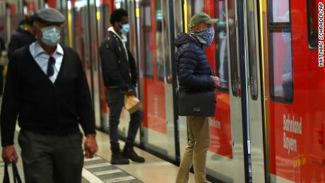 Germans could be fined up to ?5,000 as wearing a face mask becomes mandatory