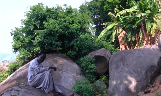 ''He is self-isolating'' Twitter users react to photos of Prophet TB Joshua praying on a mountain against COVID-19 49