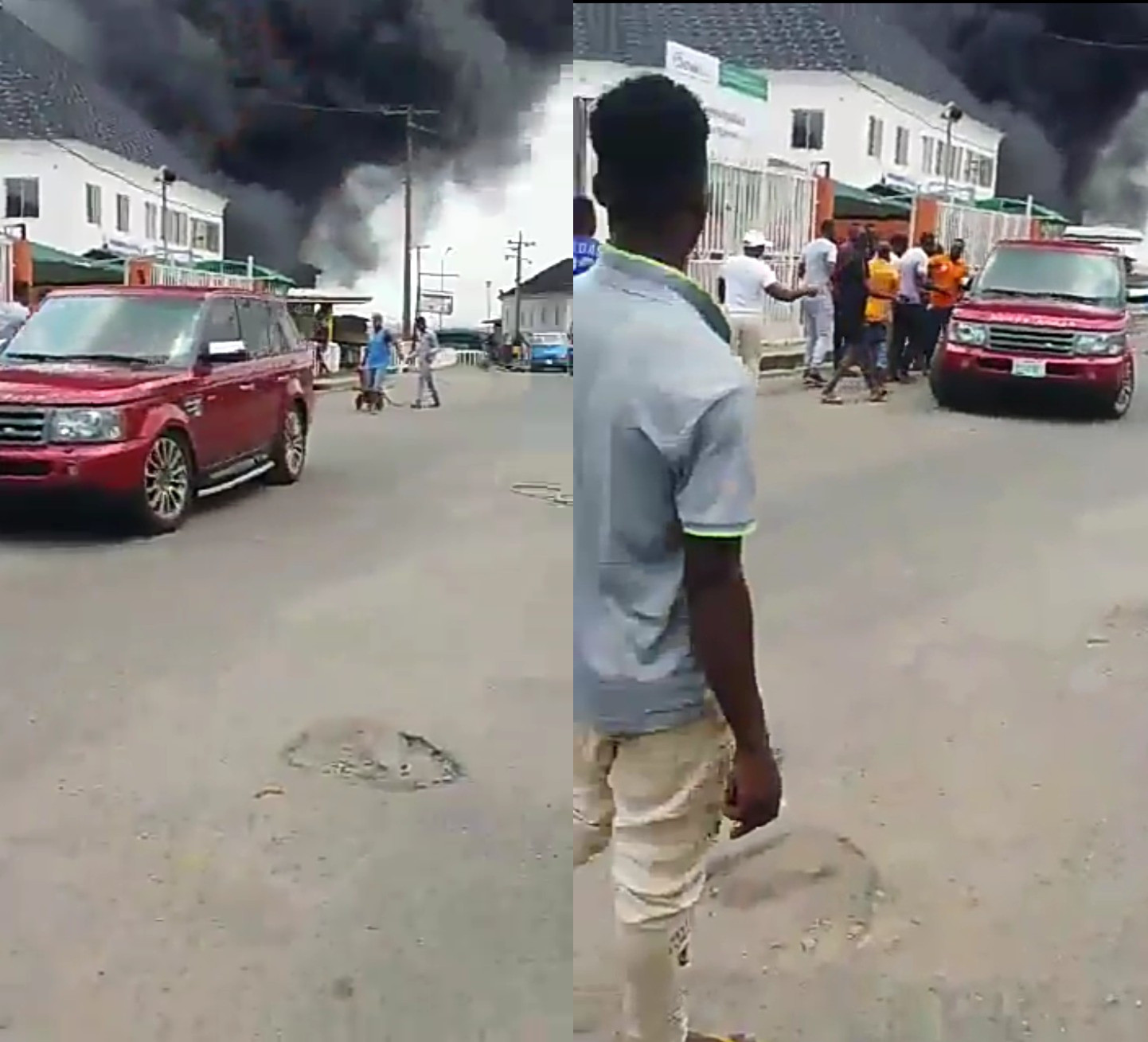 NNPC filling station fire claimed 30 vehicles ? LASEMA