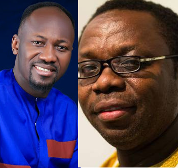 Apostle Suleman responds to Leo Igwe, director of Witches advocacy group who challenged him to heal a COVID-19 patient and get $1,000 reward