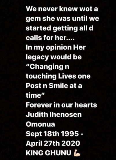 , Judith Omonua