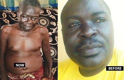 Ailing Nollywood actor, Ogun Majek, asks the public for help