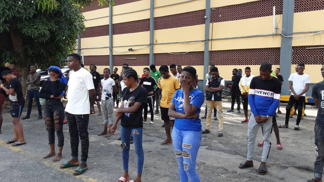 COVID-19:?65 arrested for holding a party in Lagos despite lockdown