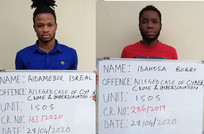 Internet fraudsters bag two years jail term in Kaduna  (Photos)