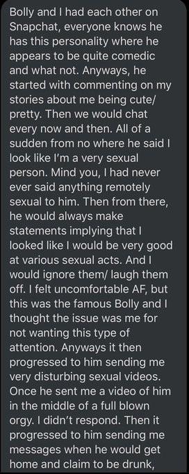 Actor Bollylomo reacts to rape allegation