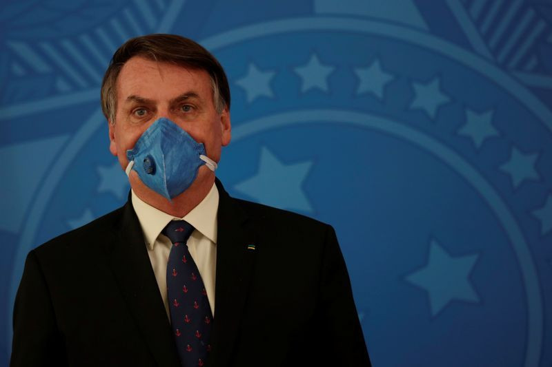 Brazil's President Bolsonaro says he's ignoring WHO Coronavirus directives because the organisation promotes 'masturbation' for children under the age of four