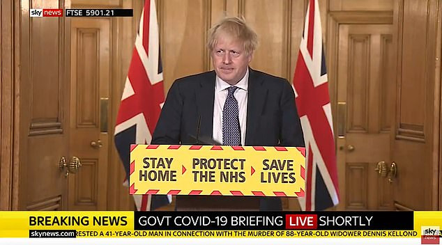 UK prime minister, Boris Johnson says wearing of face masks will be part of UK lockdown exit strategy