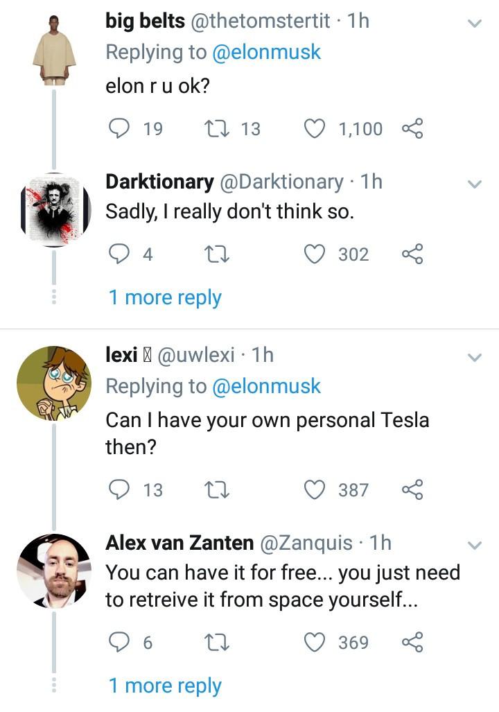 Billionaire Elon Musk reveals he