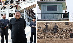 North Korea fires gunshots towards South Korea in